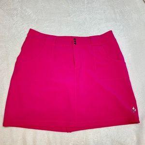JoFit Golf Skort in Hot Pink